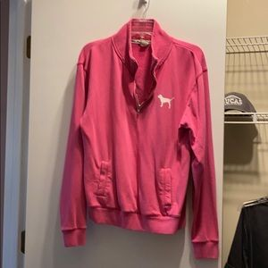 VS Pink quarter zip